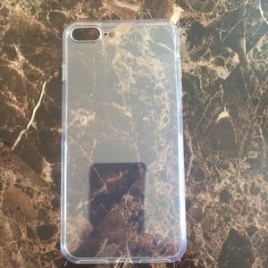 Iphone 7P/8P Clear Silicone Case